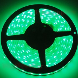 Green 5 m IP68 waterproof and submersible LED tape