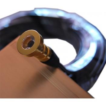 Kit Fibre optique noire RGB 16W  Skyled avec têtes en OR