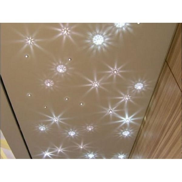Embout pour fibre optique fa on cristal pampille luminaire for Fibre optique pour plafond