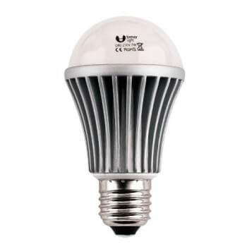 Neutral LED 7w E27 white bulb