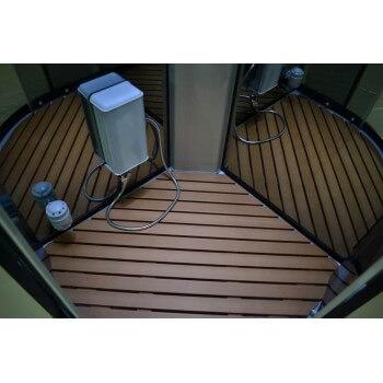 Walk in shower Hammam Lutece® 100 x 100 cm full options
