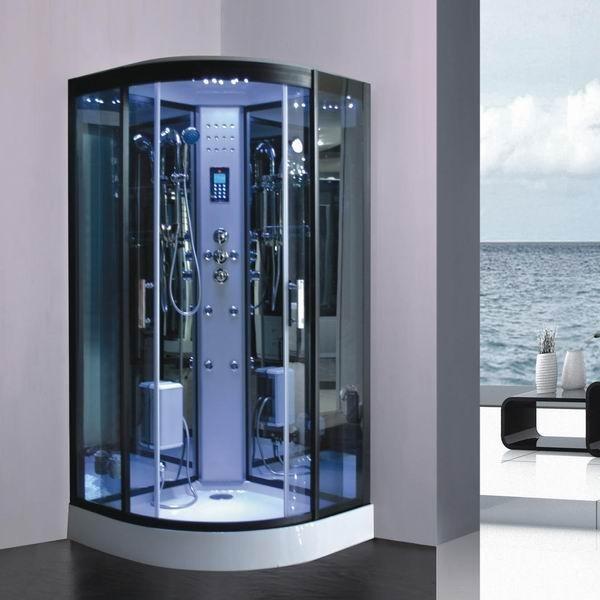 Cabine de douche hammam full option profitez d 39 une douche l 39 itali - Cabine de douche a l italienne ...