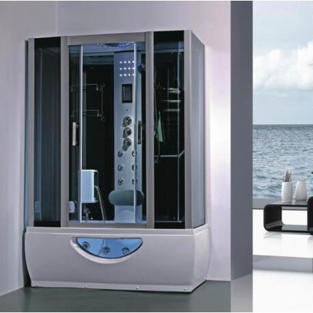 Balneo shower cabin steam room 167 x 85 full options