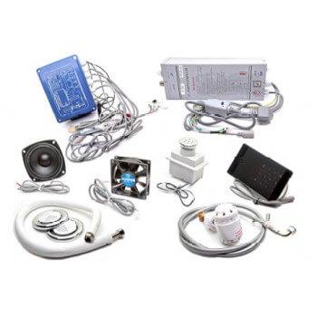 Kit hammam pequeño volumen generador vapor 2, 8kw pantalla LCD con accesorios