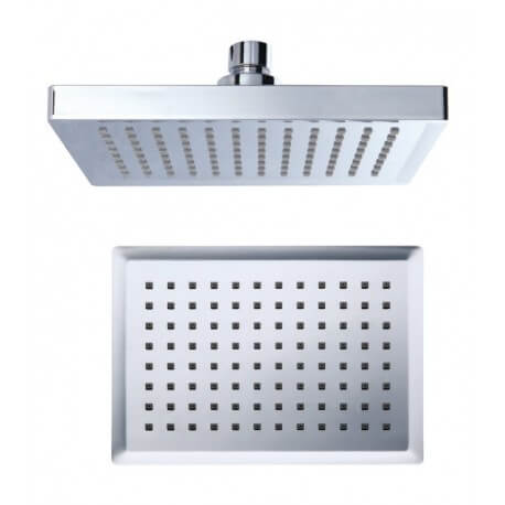 15x20cm square shower head chrome plated ABS