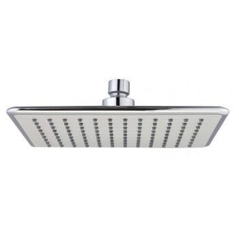 17 x 23cm chrome design in ABS square shower head