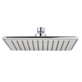 17x23cm square shower head chrome plated ABS