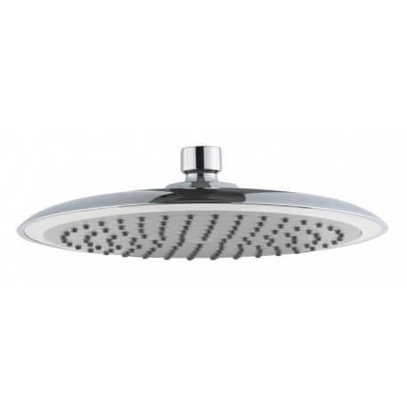 Shower head round 23 cm in diameter ABS chrome