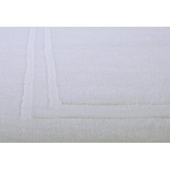 Lot of 5 bathmat 700 g / m2 70 x 50 cm for hotels, Spa, Thalassotherapy