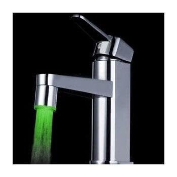 Aeratore maschio o femina per rubinetti, 7 colori (senza) elettricità