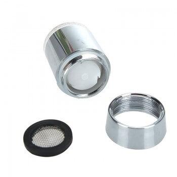 Spitze (7-Farben) mit LED-Sicherheitsleuchte für Mischer und Wasserhahne