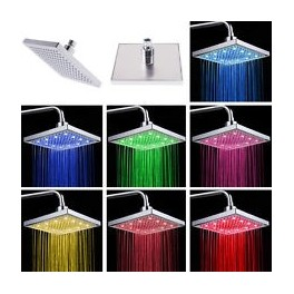 Shower head square 7-color led