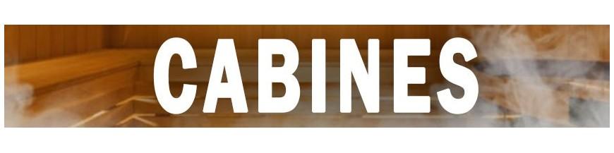 Opciones completas de la sala de sauna