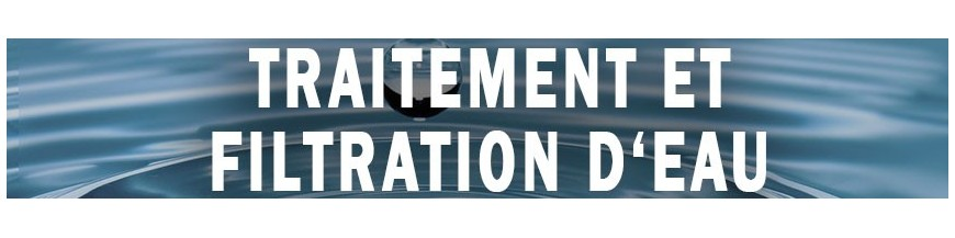 Filtración de agua y tratamiento