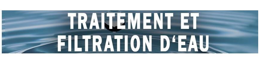 Filtración  y tratamiento de agua