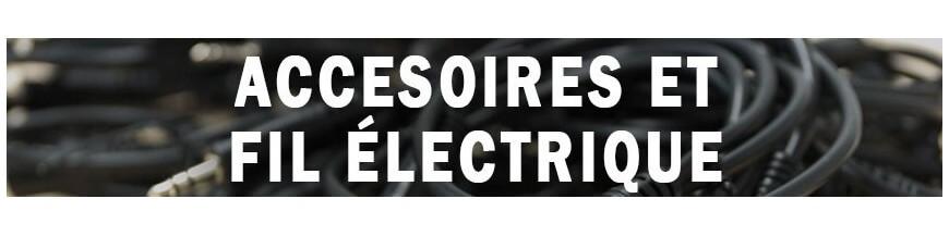 Accesorios y cable eléctrico