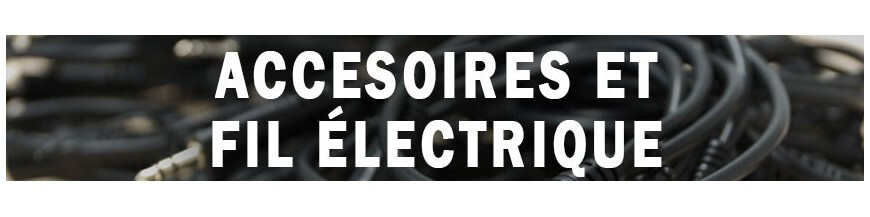 Accessories and electric wire