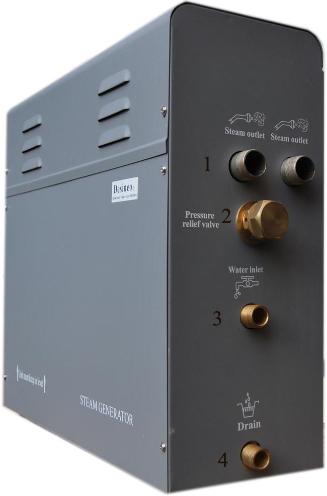 G n rateur vapeur 12kw desineo vente de sauna et hammam conforama - Generateur vapeur hammam ...